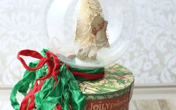 Snow Globe Gift Box DIY for the Holidays