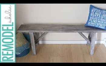 20 diy easy rustic farmhouse bench