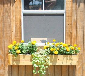 How To Build A Flower Box For A Garden Shed She Shed Or Chicken Coop Hometalk