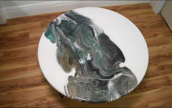 how to make a epoxy resin table top