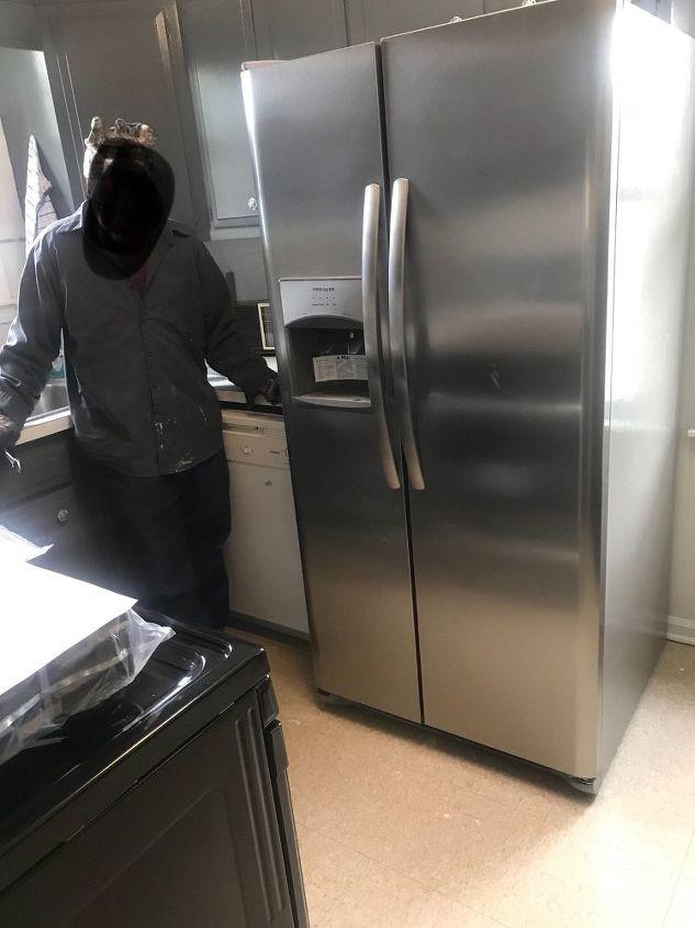 q help refrigerate too big my kitchen too small