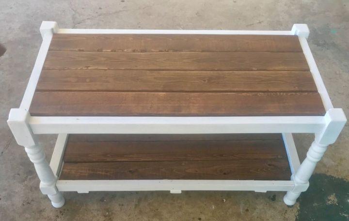 trash bench