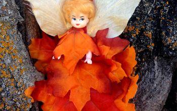 DIY Fall Forest Fairy