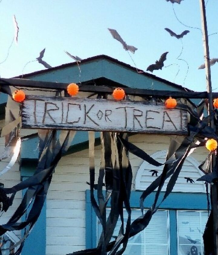 vhs tapes to crazy cool halloween decor
