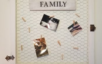chicken wire picture frame
