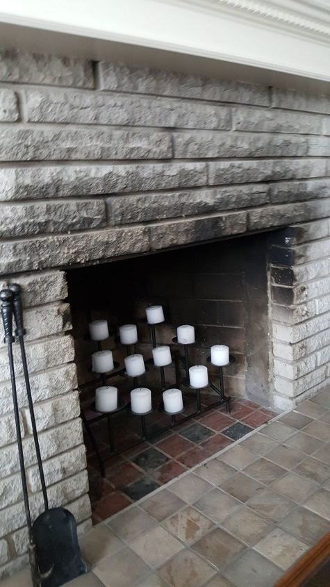 q how fo i remove fireplace soot smoke