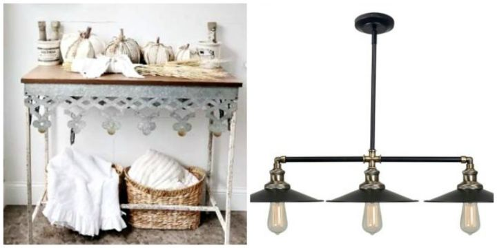 from table top to kitchen island light fixture