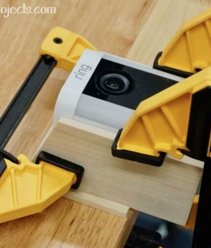 how to make a birdhouse slipcover for a outdoor security camera