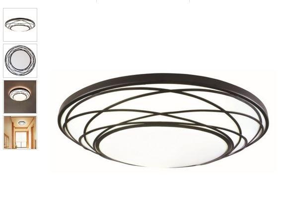 q painting ceiling light lens black denominational design