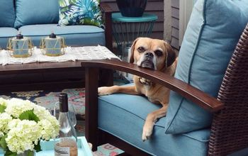 Our Budget Patio Makeover: From Patchy Grass To Chic Retreat