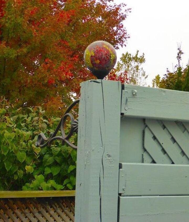 privacy fencing mini makeover