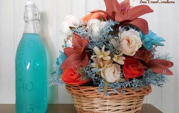 Recycling Flower Arrangements