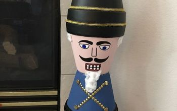 flower pot nutcracker solider