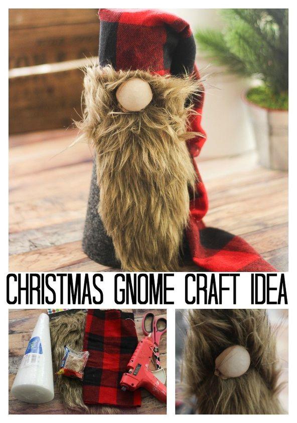 Christmas Gnomes Diy.Christmas Gnome Diy Scandinavian Gnome Hometalk
