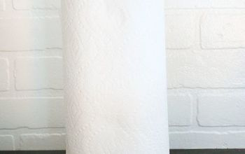 How to Make a Marble Paper Towel Holder