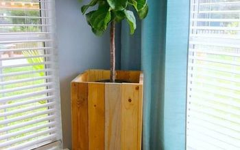 how to build a diy elevated wooden planter