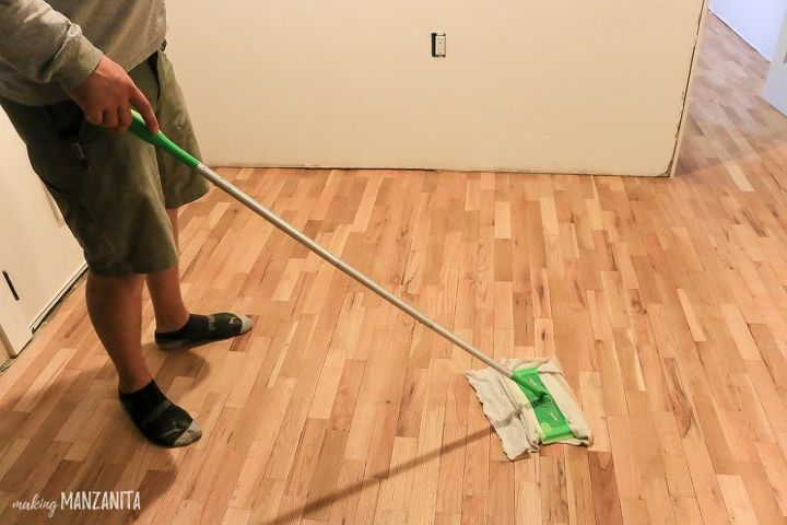 how to refinish your hardwood floor