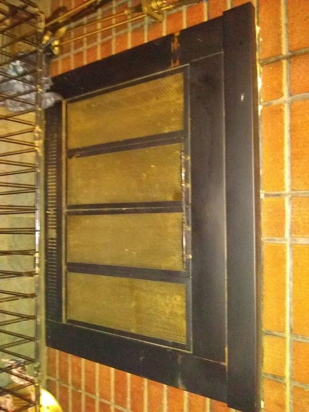 q how do i replace fireplace front simple and cheap