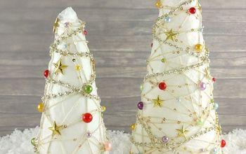 Cord Christmas Trees