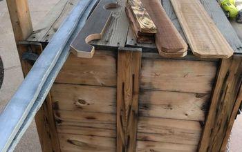 10 wood sled