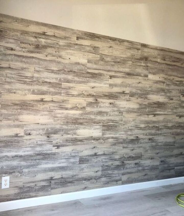 Colorful Wood Plank Wallpaper Peel and Stick Removable Wall Sticker for Bedroom