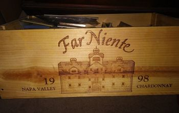 q h how do i decorate with a wine crate
