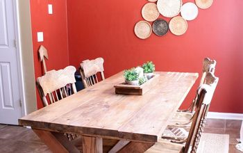 how to give your dining room an update that is inexpensive, Before