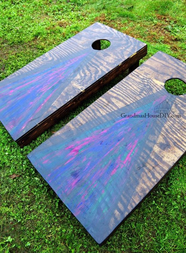 diy build cornhole boards my first experience with unicorn spit