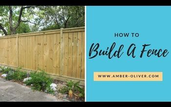 replace and rebuild your fence