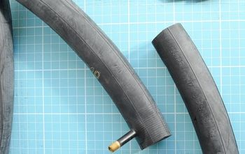 inner bicycle tube into a wallet