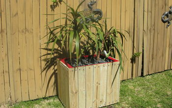 filing cabinet red planter new lease on life