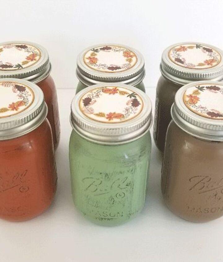 mini mason jar party favors