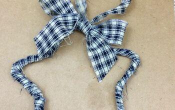 How to Make a Easy Rag Star Ornament