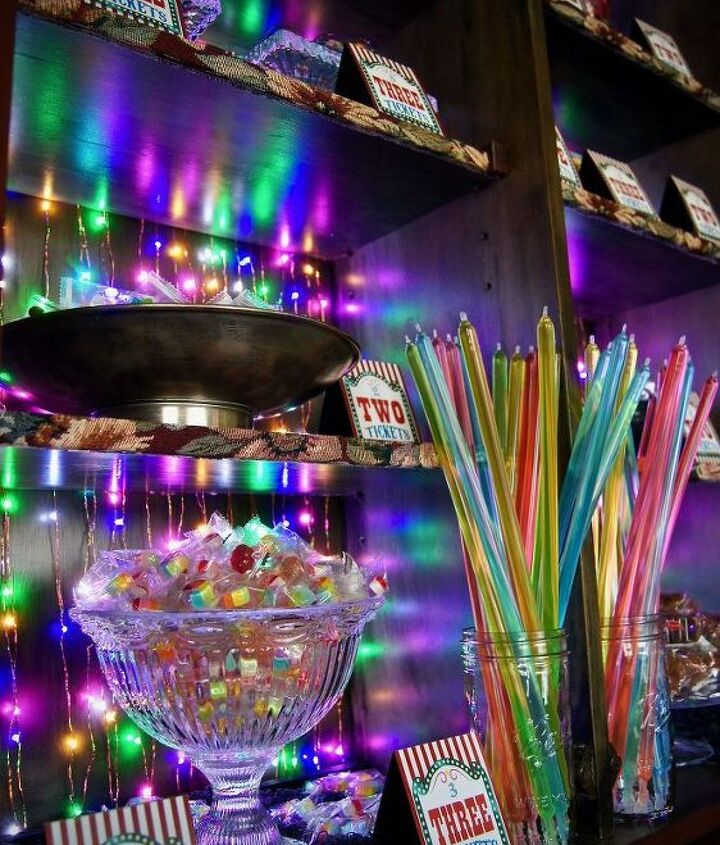 turn your hutch into a candy hutch