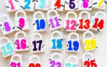 shopping bags advent calendar