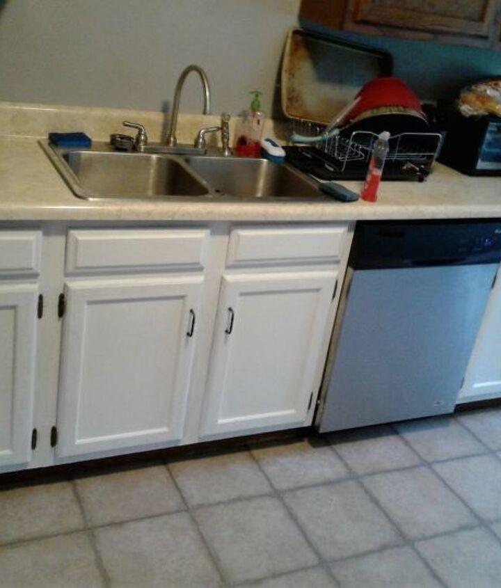 kitchen transformation for under 400