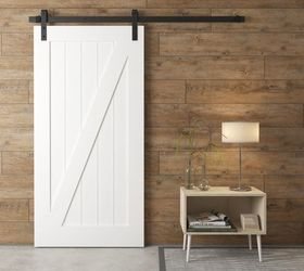 ... If There Is Stuff Like Pipes In There A Pocket Door Wonu0027t Work For You,  But You Could Get Away With A Barn Style Door And It Would Be Easier To  Install