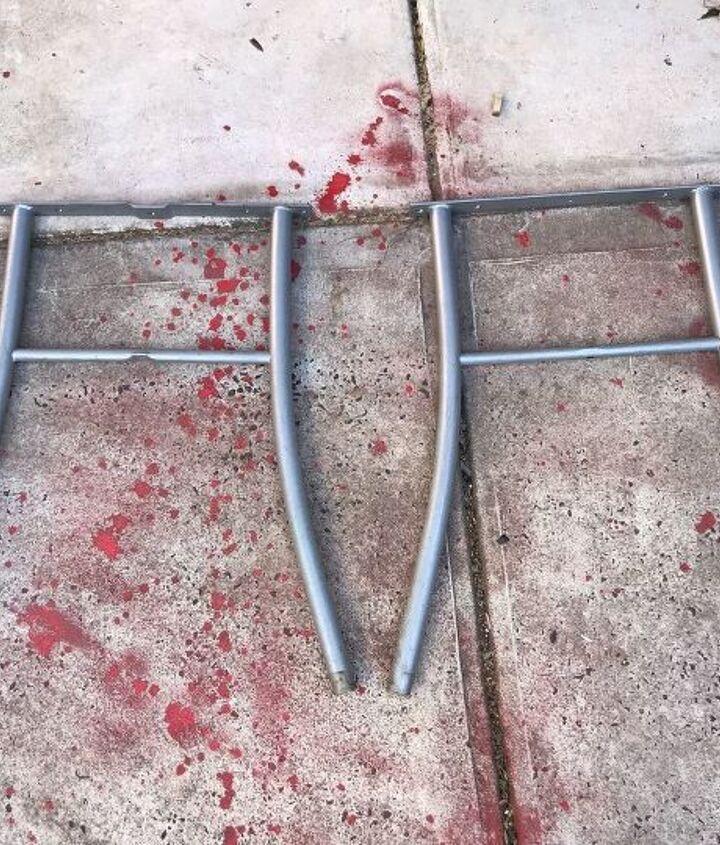 patio table to kitchen prep bench