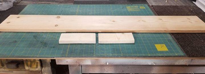 rustic wood table runner