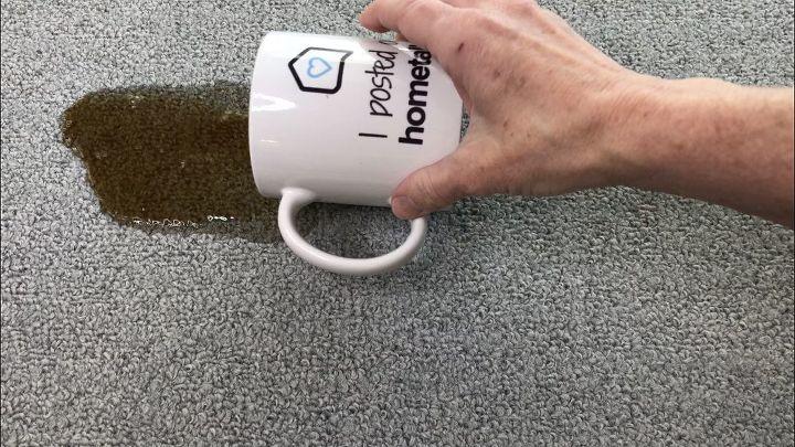 2 ingredient carpet spot cleaner