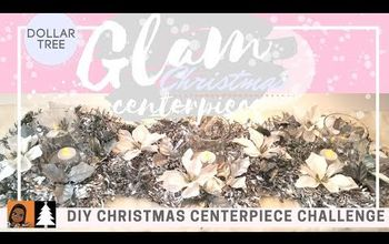 DOLLAR TREE CHRISTMAS CENTERPIECE