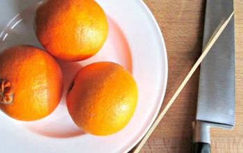 How to Easily Dry Orange Slices for Christmas Decorations