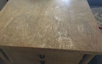q how do i refinish this end table