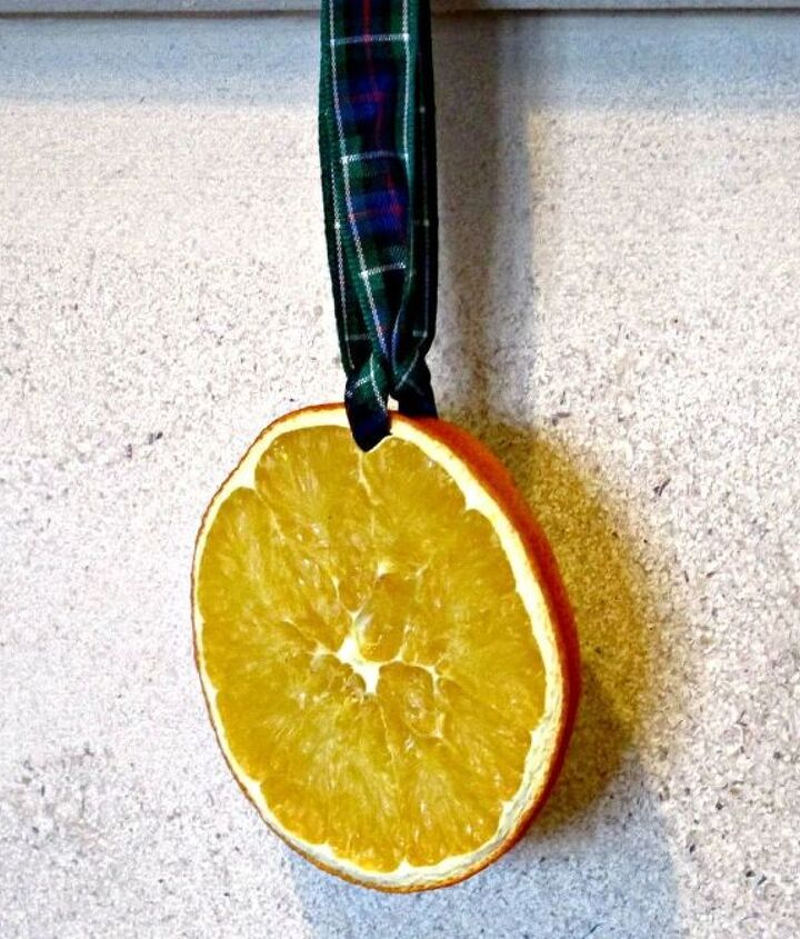 how to easily dry orange slices and peel
