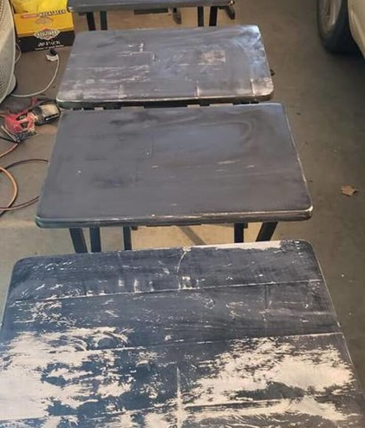 refinishing tv trays