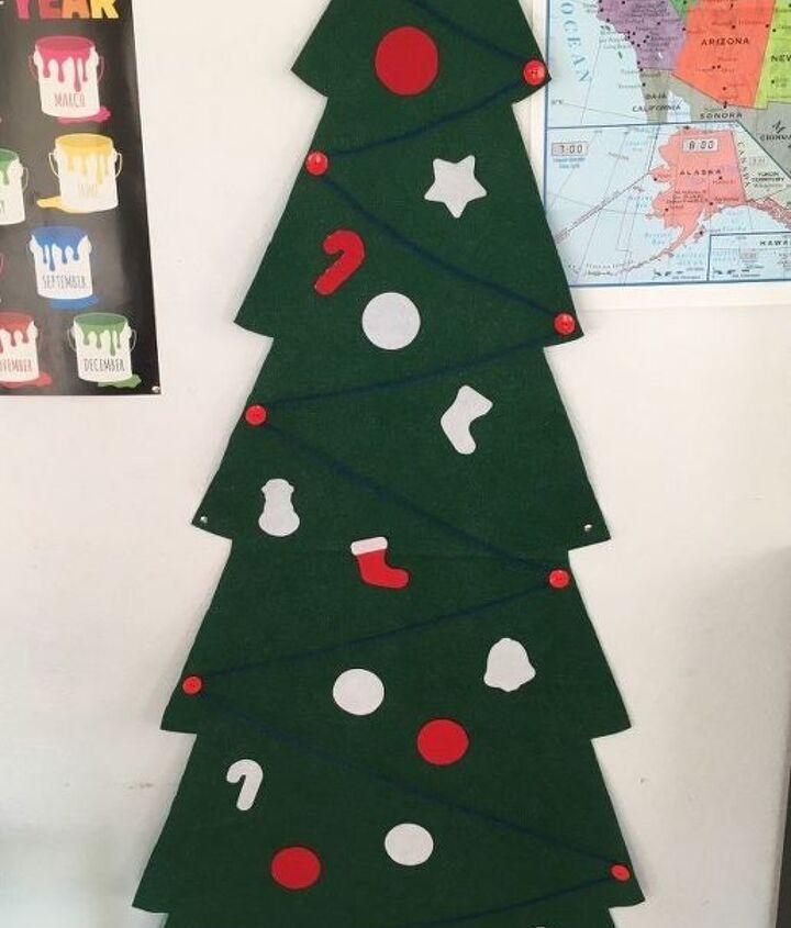 felt christmas tree for small children
