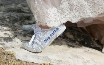 diy personalised wedding shoes, DIY Personalised Wedding Shoes