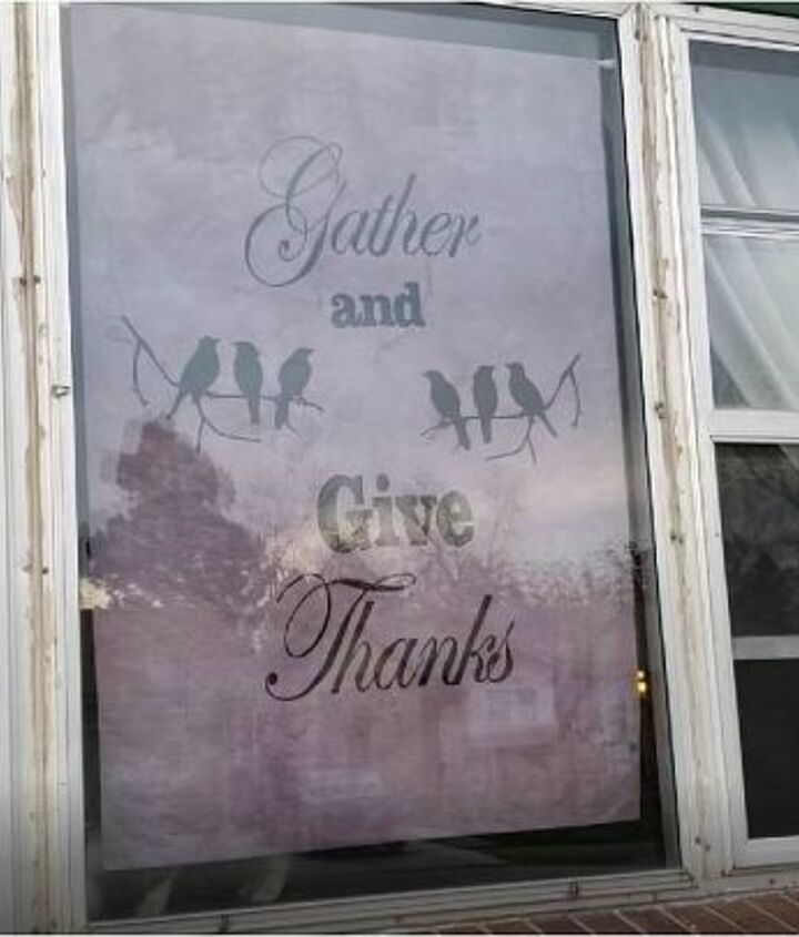 hand painted thanksgiving banner