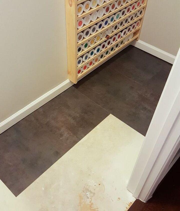 how to lay vinyl peel and stick flooring