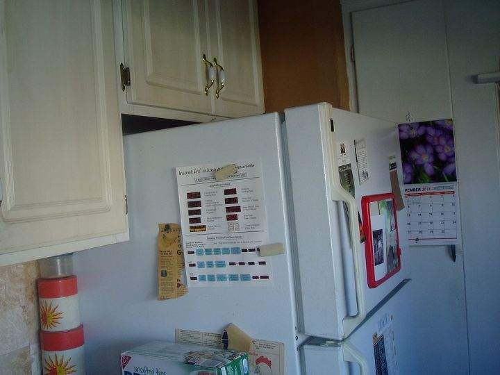 q how to utilize these 2 empty cabinets